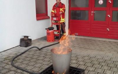 Feuerlöscherausbildung 2015