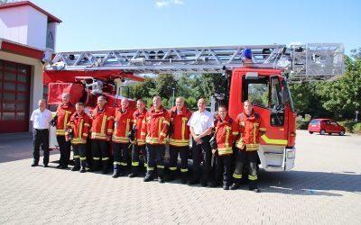 Drehleiterausbildung in Bad Bellingen