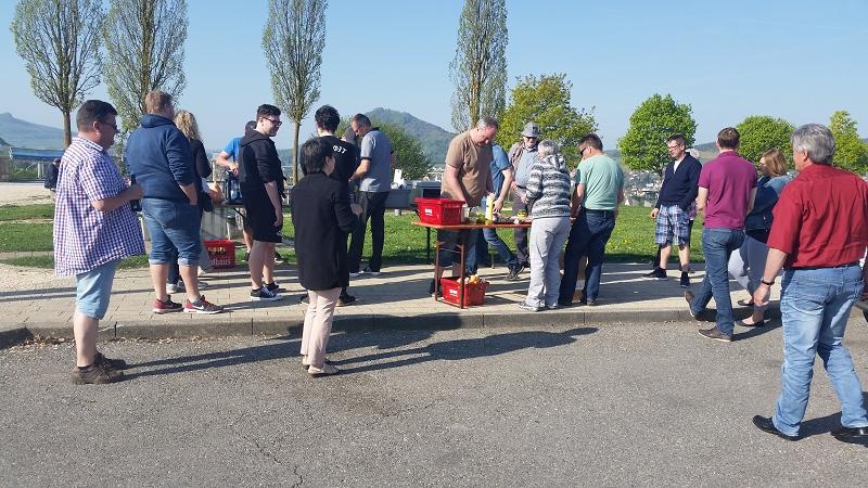 Ausflug Feuerwehr Bad Bellingen 2018