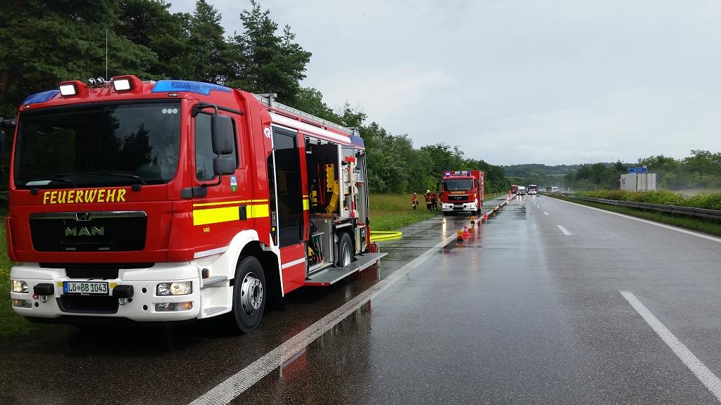 EB 28 – 2018 Verkehrsunfall A5,