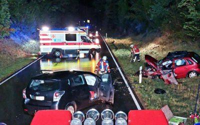 EB 44 – 2021 Verkehrsunfall Öl auf Straße. Bad Bellingen